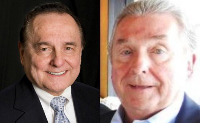 Bill Gothard (l), David Gothard (r).
