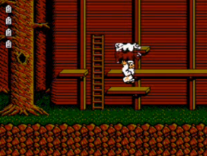 """The gameplay and presentation in """"Noah's Ark"""" are similar to that of the American Super Mario Bros. 2."""