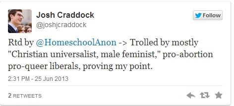 Craddock reply tweet