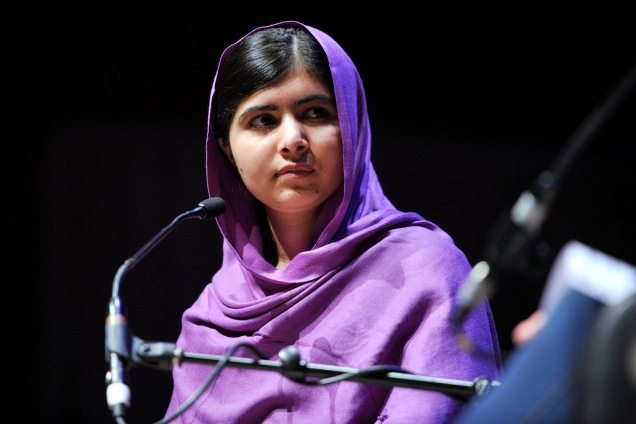 Malala Yousafzai. CC image courtesy of Southbank Centre.