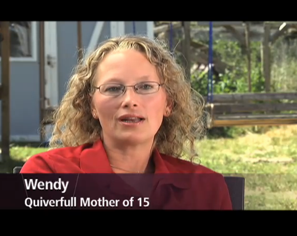 "Wendy Jeub on WE-TV's ""Born to Breed"" episode."